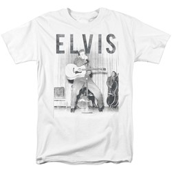 Elvis Presley - Mens With The Band T-Shirt