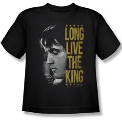 Elvis Presley - Big Boys Long Live The King T-Shirt
