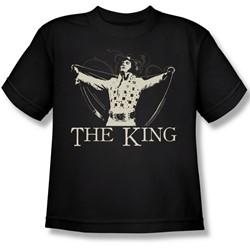 Elvis Presley - Youth Ornate King T-Shirt