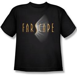Farscape - Farscape Logo Big Boys T-Shirt In Black
