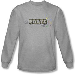 Farts Candy - Mens Finger Logo Longsleeve T-Shirt