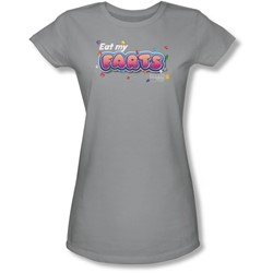 Farts Candy - Juniors Eat My Farts Sheer T-Shirt