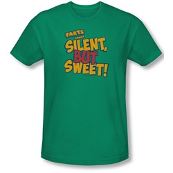 Farts Candy - Mens Silent But Sweet Slim Fit T-Shirt