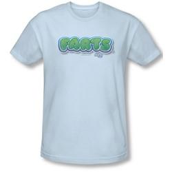 Farts Candy - Mens Logo Slim Fit T-Shirt