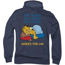 Garfield - Mens Works For Me Hoodie