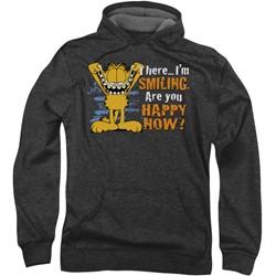 Garfield - Mens Smiling Hoodie