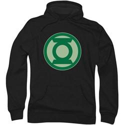 Green Lantern - Mens Green Symbol Hoodie