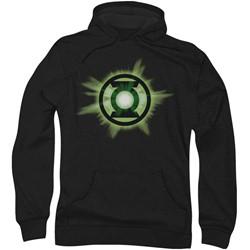 Green Lantern - Mens Green Glow Hoodie