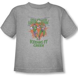 Green Lantern - Toddler Keeping It Green T-Shirt