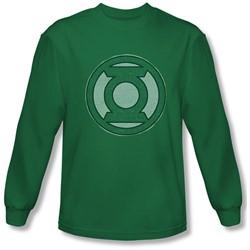 Green Lantern - Mens Hand Me Down Longsleeve T-Shirt