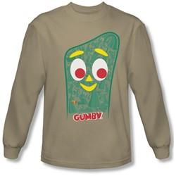 Gumby - Mens Inside Gumby Longsleeve T-Shirt