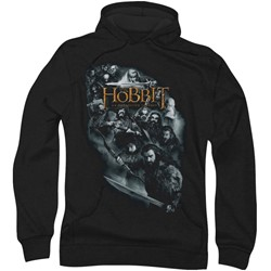 The Hobbit - Mens Cast Of Characters Hoodie