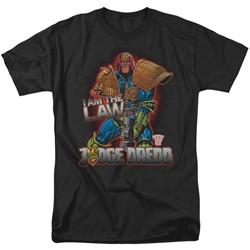 Judge Dredd - Mens Law T-Shirt