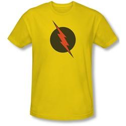 Justice League, The - Mens Reverse Flash Slim Fit T-Shirt