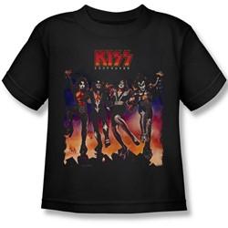 Kiss - Little Boys Destroyer Cover T-Shirt