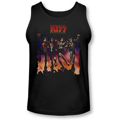 Kiss - Mens Destroyer Cover Tank-Top