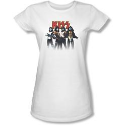 Kiss Juniors Solo Heads Sheer T-Shirt