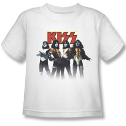 Kiss - Little Boys Throwback Pose T-Shirt