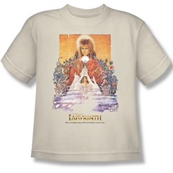 The Labyrinth - Movie Poster Big Boys T-Shirt In Cream