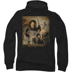 Lord of the Rings - Mens Rotk Poster Hoodie