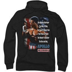 Mgm - Mens Rocky Ii The One And Only Hoodie