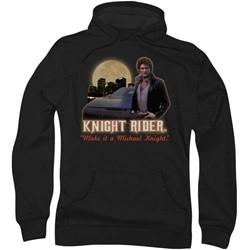 Knight Rider - Mens Full Moon Hoodie