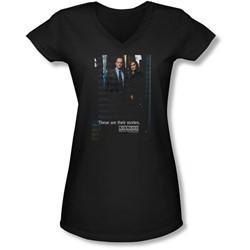 Law & Order: Special Victim's Unit - Juniors Svu  V-Neck T-Shirt
