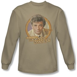 Columbo - Mens Question  Longsleeve T-Shirt