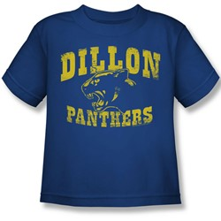 Nbc - Dillon Panthers Little Boys T-Shirt In Royal Blue
