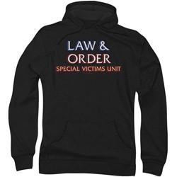 Law & Order: Special Victim's Unit - Mens Logo Hoodie