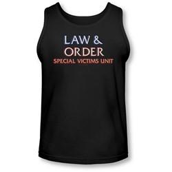 Law & Order: Special Victim's Unit - Mens Logo  Tank Top