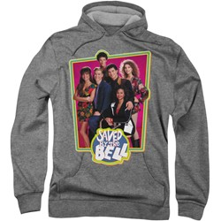 Saved By The Bell - Mens Saved Cast Hoodie