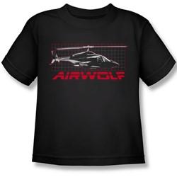 Airwolf - Airwolf Grid Juvee T-Shirt In Black