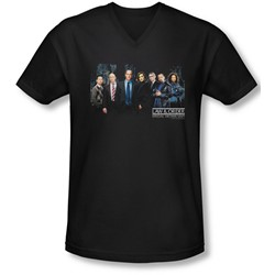 Law & Order: Special Victim's Unit - Mens Cast  V-Neck T-Shirt