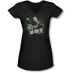 Law & Order: Special Victim's Unit - Juniors I'Ll Kill Ya  V-Neck T-Shirt