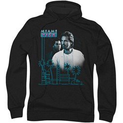 Miami Vice - Mens Looking Out Hoodie