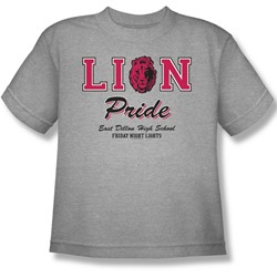 Friday Night Lights - Lions Pride Youth T-Shirt In Heather
