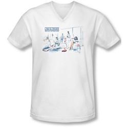 Law & Order: Special Victim's Unit - Mens Dominos  V-Neck T-Shirt