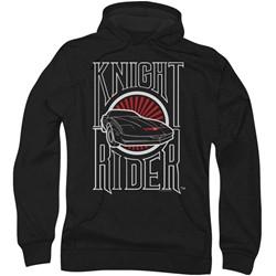 Knight Rider - Mens Logo Hoodie