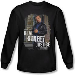 Law & Order: Special Victim's Unit - Mens Street Justice  Longsleeve T-Shirt