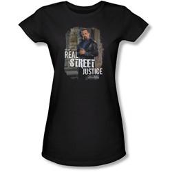 Law & Order: Special Victim's Unit - Juniors Street Justice  Sheer T-Shirt