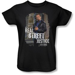 Law & Order: Special Victim's Unit - Womens Street Justice  T-Shirt