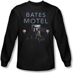 Bates Motel - Mens Motel Room Longsleeve T-Shirt