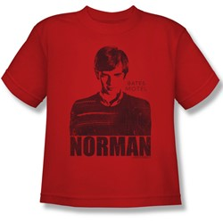 Bates Motel - Big Boys Norman T-Shirt