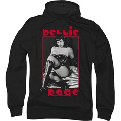 Bettie Page - Mens The Mistress Hoodie