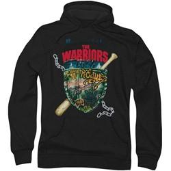 Warriors - Mens Shield Hoodie