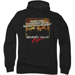 Beverly Hills Cop - Mens Banana In My Tailpipe Hoodie