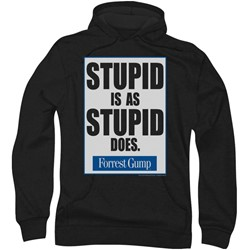Forrest Gump - Mens Stupid Is Hoodie