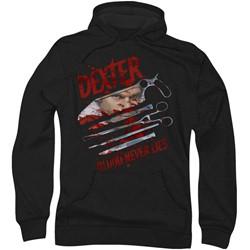 Dexter - Mens Blood Never Lies Hoodie