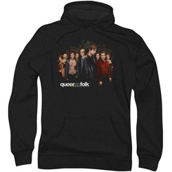 Queer As Folk - Mens Title Hoodie